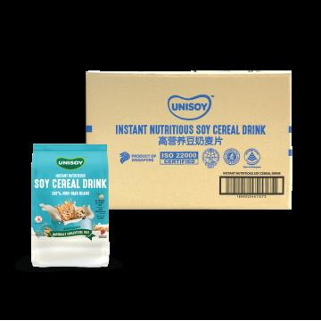 UNISOY Nutritious Soya Cereal Drink Carton