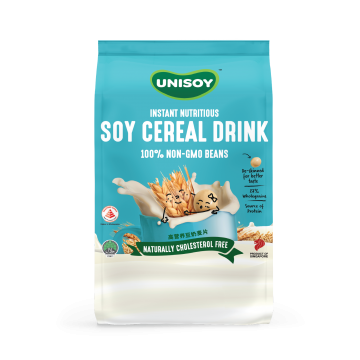 [Bundle of 2] UNISOY Nutritious Soy Cereal Drink